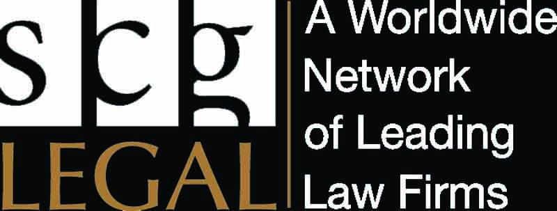 SCG Legal logo optima font