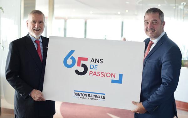 65e anniversaire Dunton Rainville