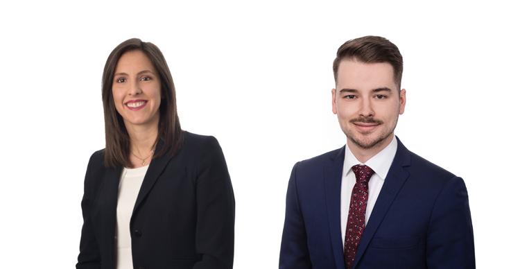 Dunton Rainville deux nouveaux avocats